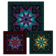 Lotus Quilt Kit @ JinnyBeyer.com