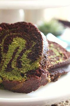 Bisous À Toi: Chocolate Matcha Bundt Cake