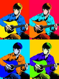 How to Make a Andy Warhol Pop Art Inspired Picture in Photoshop