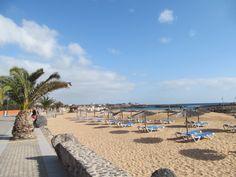Beach in Caleta De Fuste, Fuerteventura
