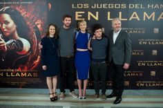 The Catching Fire premiere Madrid photocall: http://www.panempropaganda.com/movie-countdown/2013/11/13/the-hunger-games-catching-fire-madrid-photocall.html