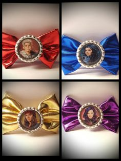 Check out this item in my Etsy shop https://www.etsy.com/listing/510032243/disney-descendants-inspired-hair-bows