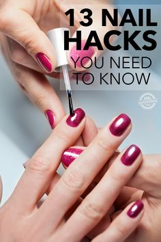 Have pretty nails makes you look gorgeous like nothing else. But are you good at it? Here're some of the best NAIL HACKS worth knowing. Take a look!