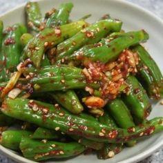Tteokbokki Recipe, K Food, Food Festival, Korean Food, Green Beans, Food And Drink, Yummy Food, Diet, Vegan