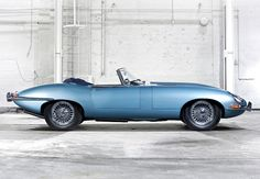 "Jaguar XKE ""the most beautiful car ever made."" Enzo Farrari.  #blue"