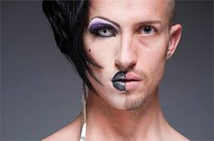 Half-Drag Captures Both Male and Female Side of People | The Design Inspiration