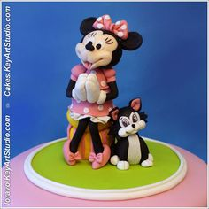 Mickey Mouse Clubhouse Minnie Figaro Cake. That is so cute. Please check out my website thanks. www.photopix.co.nz