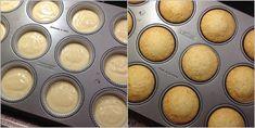 Vanilkové cupcakes s borůvkami
