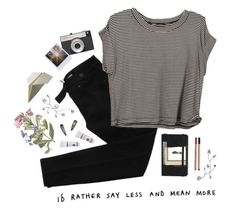 """""""purpose-full"""" by cotton-clouds ❤ liked on Polyvore featuring STELLA McCARTNEY, Moleskine, Bastien and LØMO"""