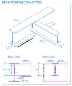ผลการค้นหารูปภาพสำหรับ hss steel column and beam connection Beam Structure, Steel Structure Buildings, Steel Columns, Steel Beams, Steel Frame House, Steel House, Metal Beam, I Beam, Steel Drawing