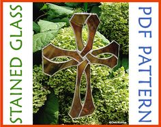 This Stained Glass Celtic Knotwork Cross pattern is my best selling pattern!  To get one of your own, just click on the pic!