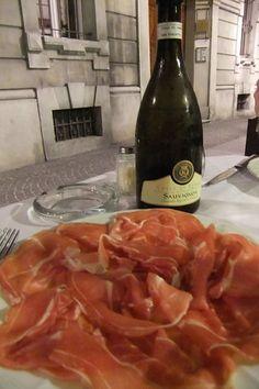 Prosciutto di Parma in Parma!