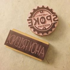 Sending out a couple of awesome logo stamps tomorrow by kelseypikepapercraft