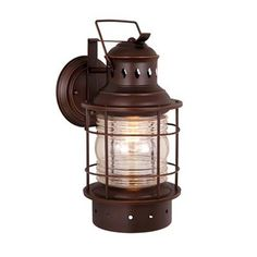 "Vaxcel Lighting OW37051 Nautical Outdoor Sconce at ATG Stores 18"" Size for front of Garage"