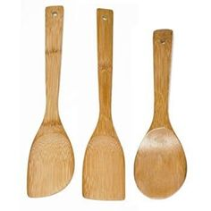 NEW Bamboo Spatula Spoons Serving Tools Kit Kitchen Utensils Wooden Cooking Set Best Cooking Utensils, Cooking Spoon, Cooking Tools, Kitchen Tools And Gadgets, Kitchen Items, Kitchen Utensils, Wooden Spoon Carving, Wooden Spoons, Kitchenware Set