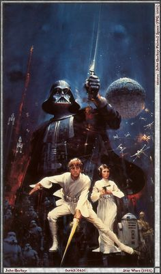 Star Wars cover by John Berkey