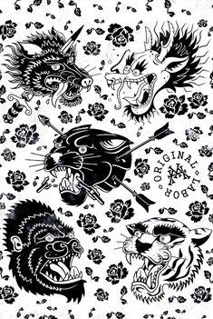 Illustration - illustration - Original Labor - POSTERS by Maxime Harrisson, via Behance illustration : – Picture : – Description Original Labor – POSTERS by Maxime Harrisson, via Behance -Read More – Tattoo Sketches, Tattoo Drawings, Body Art Tattoos, New Tattoos, Small Tattoos, Sleeve Tattoos, Tattoos For Guys, Tattoo Old School, Old School Tattoo Designs