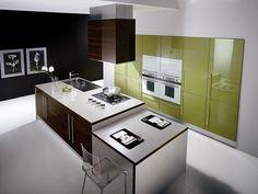 Popular Spacious Modern Kitchen Design Trends