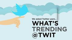 Infographic / Videographic - What's Trending @ Twitter