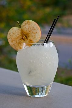 Apple Smash:  2 Oz White Rum  .5 Oz Lemon Juice  .5 Oz Simple Syrup (1:1 Ratio)  Dash Of Bitters (such As Fees Barrel-aged)  Two Large Apple Slices  Cinnamon    Mash A Large Apple Slice In The Base Of A Mixing Glass With A Muddler. Add The Other Ingredients Except The Cinnamon. Shake With Ice And Strain Into A Highball Glass Filled With Crushed Ice. Garnish With A Cinnamon-dusted Apple Slice.