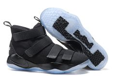 "507ea659be5df Nike LeBron Soldier 11 ""Black Ice"" 2017 For Sale"