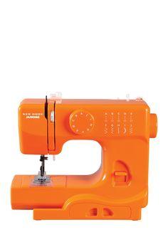 Blaze Orange Sewing Machine. Love love love this!!