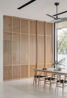 Bauhaus Interior, Bauhaus Furniture, Interior Architecture, Dining Room Design, Interior Design Living Room, Teak Flooring, New Homes, House Design, Decoration