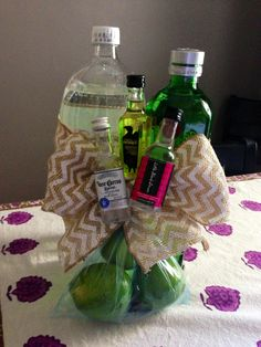 """Gift For """"Stock The Bar"""" Party! I Should Do That! Pinterest"""