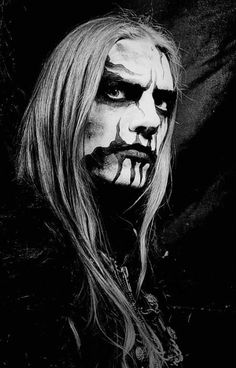 Image result for heavy metal makeup men