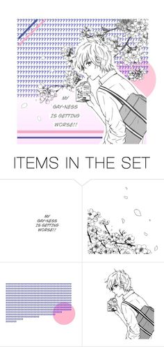 """s-orry"" by sparklinganimetears ❤ liked on Polyvore featuring art"