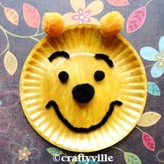 Winnie the Pooh craft (Gus says he wants to make)