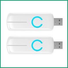 (2) Aeotec by Aeon Labs Z-Stick Z-Wave Plus Gen5 ZW090-A - 2 Pack