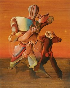 Otto Tschumi Deux hommes, 1945 Museums, Painting, Animals, Surrealism, Two Men, Auction, Do Your Thing, Art Ideas, Animaux
