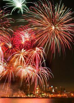 Fireworks - Philadelphia, Penn's Landing