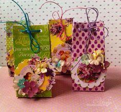 C.h.e.a.p.-art: МК от Виктории Поречной: пасхальные подарочные пакетики