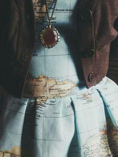 Map dress :-)