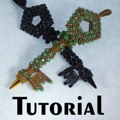 TUTORIAL Dark Secret Clave Colgante con Secret color ideal vías | Diseños Mikki Ferrugiaro