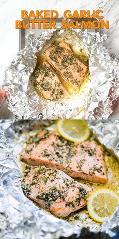 Healthy Salmon Recipes, Fish Recipes, Seafood Recipes, Keto Recipes, Cooking Recipes, Cooking Time, Butter Salmon, Healthy Cooking, Vegetarian Cooking