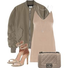A fashion look from July 2017 featuring Fear of God jackets, Joie sandals and Chanel shoulder bags. Browse and shop related looks.