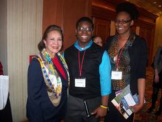 TeenSHARP students with Alma J. Powell, chair of the Board of Directors for America's Promise Alliance and wife of Gen. Colin Powell. Mrs. Powell was appointed by President Barack Obama in 2010 to be a member of the President's Board of Advisors on Historically Black Colleges and Universities.