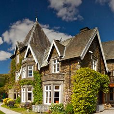 Holbeck Ghyll Country House Hotel & Spa, Windermere, Cumbria, UK. Fab view into this Best Loved hotel!