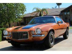 1971 Camaro RS Z28. Looks just like Dad's, minus the black stripes on the hood.