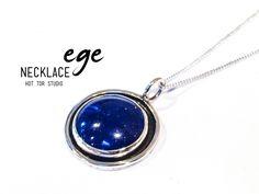 King Lapis Lazuli Necklace, Blue Lapis Silver Pendant, EGE Necklace, Ready To Ship, Free Domestic Shipping  https://www.etsy.com/listing/240046962/king-lapis-lazuli-necklace-blue-lapis