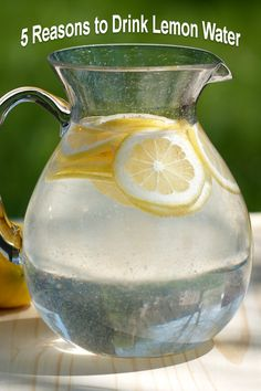 5 Reasons to Drink Lemon Water | GI 365