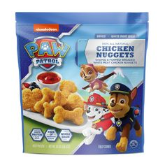 All pups on deck for these wholesome and tasty baked chicken nuggets! Made with only white meat and coated with crisp whole grain breading, they're sure to make your next meal worth barking about. Frozen Chicken Nuggets, Baked Chicken Nuggets, Chicken Bites, Chicken Pasta, Paw Patrol Party, Paw Patrol Birthday, Dinner Recipes For Kids, Kids Meals, Meat Chickens