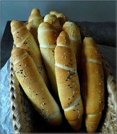 Limara péksége: Uzsonna kifli Hungarian Cake, Hungarian Recipes, Hungarian Food, Bread Recipes, Cooking Recipes, Savory Pastry, Baking And Pastry, Creative Food, Hot Dog Buns
