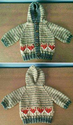 Little Bumblebee Cardi - Free Pattern Baby Cardigan Knitting Pattern Free, Baby Boy Knitting Patterns, Baby Sweater Patterns, Crochet Baby Cardigan, Knit Baby Sweaters, Knitted Baby Clothes, Baby Clothes Patterns, Knitting For Kids, Easy Knitting