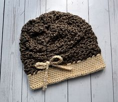 The woodland Gathering Hat is a fun hat to work up. It is made from the button…