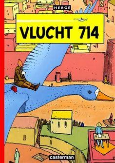 Les Aventures de Tintin - Album Imaginaire - Vlucht 714