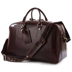 Handmade Leather Business Travel Bag / Luggage